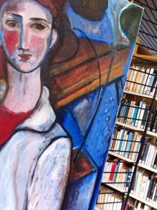 ... et de l'art à la bibliothèque
