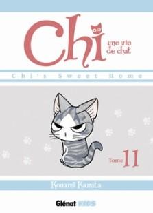 Konami Kanata, Chi : une vie de chat, tome 11, Grenoble : Glénat , 2014.