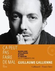 Guillaume Gallienne, Ça peut pas faire de mal : Baudelaire, Apollinaire, Eluard et Aragon : la poésie, Paris : Gallimard : France Inter, 2015.
