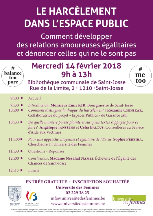 Conference Harcelement