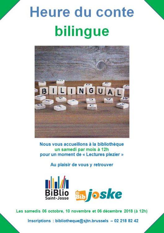 Heure du conte bilingue